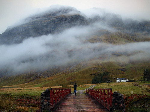 bridge winter sky mist mountains fog clouds landscape scotland day whitehouse glencoe saariysqualitypictures capturethefinest olympusep1 kennybarker