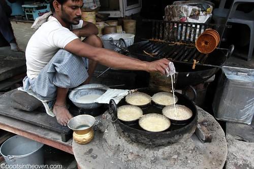 Frying Ghewar