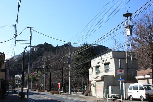 高尾山口の火の見櫓(八王子市)