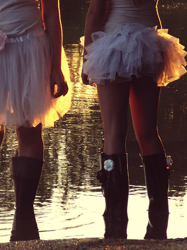 tutus & boots by {the gloaming}