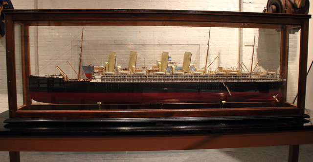 SS Kronprinzessin Cecilie Model Mariners' Museum