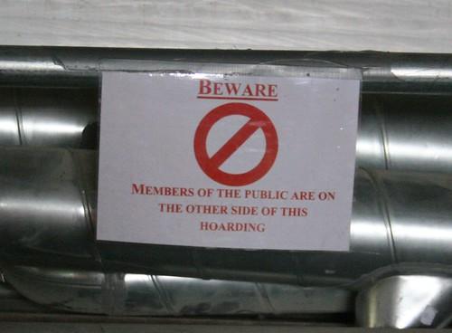 Beware of the public!