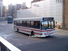 S200 CBC Dennis Dart SLF Plaxton Pointer II. EDINBURGH Bus Station