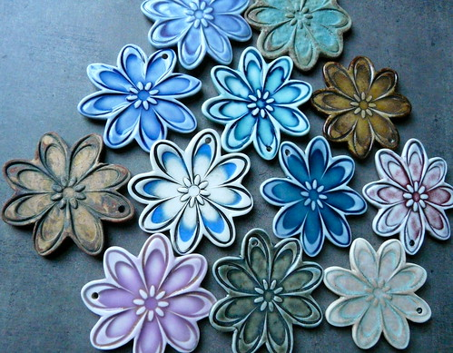 Porcelain Flower Power