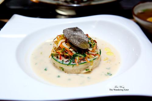 Chef Hiroyuki Sakai's special dish for this event