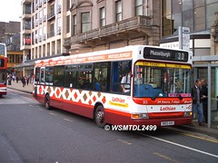 93 SN53 AVG Dennis Super Pinter Dart Plaxton Pointer II. Princes Street EDINBURGH