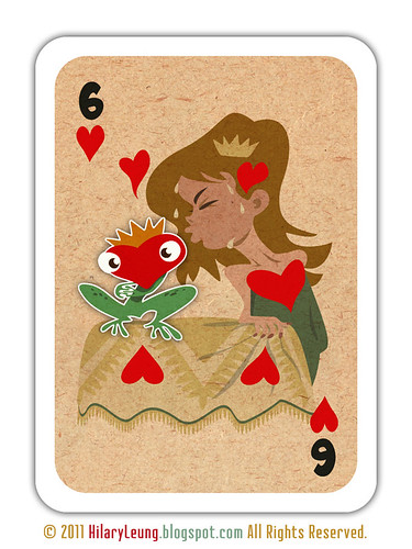 :: six of hearts ::