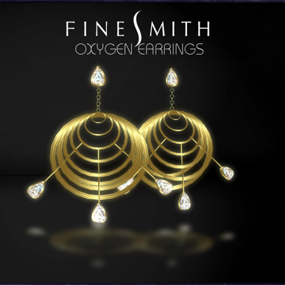 OxygenEarrings GOLD