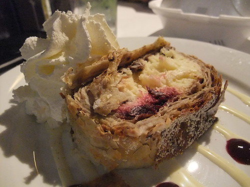 Cherry and Cheese Strudel @ Spagio
