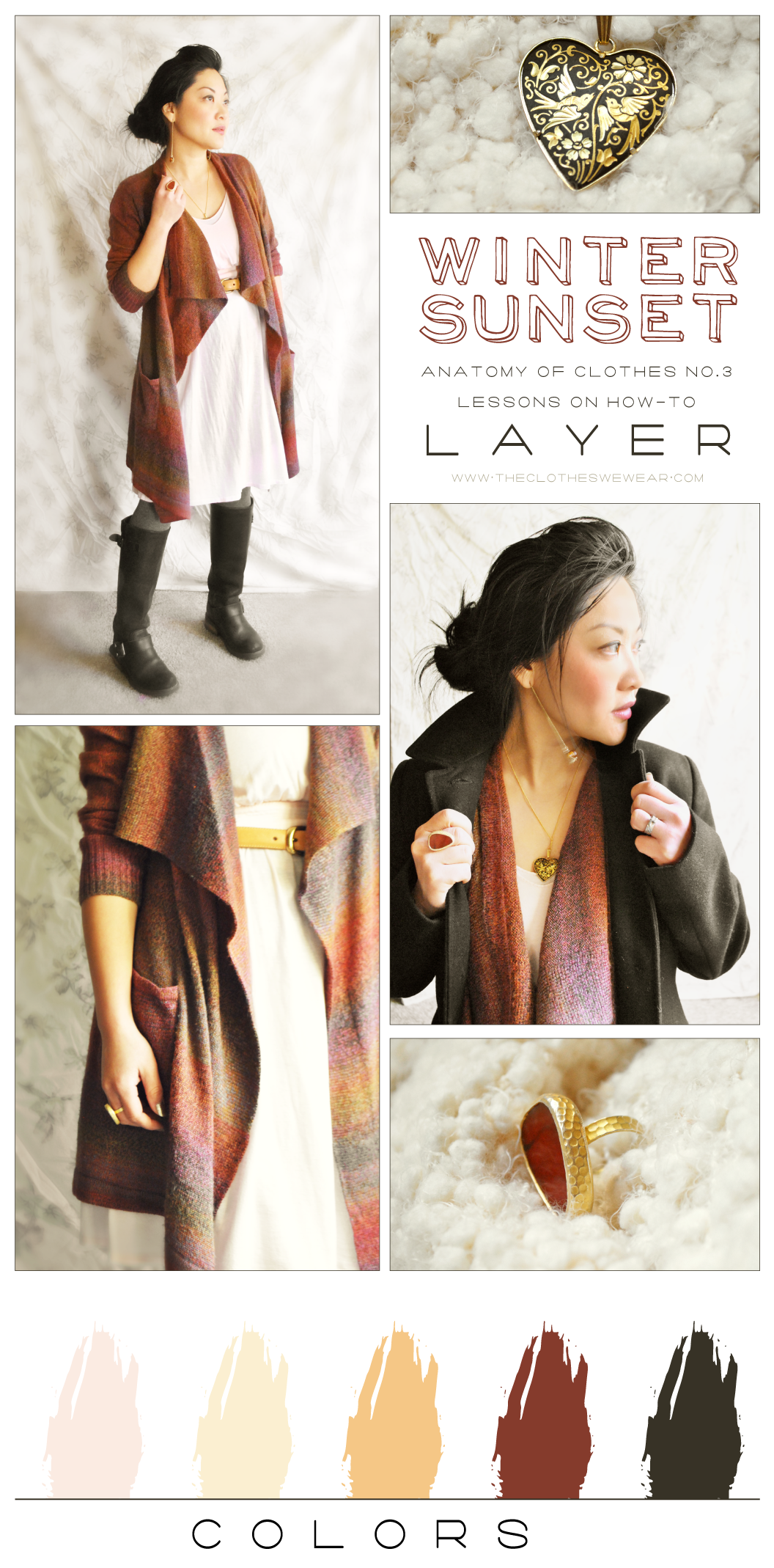 Anatomy of Clothes No. 3 - How-To Layer