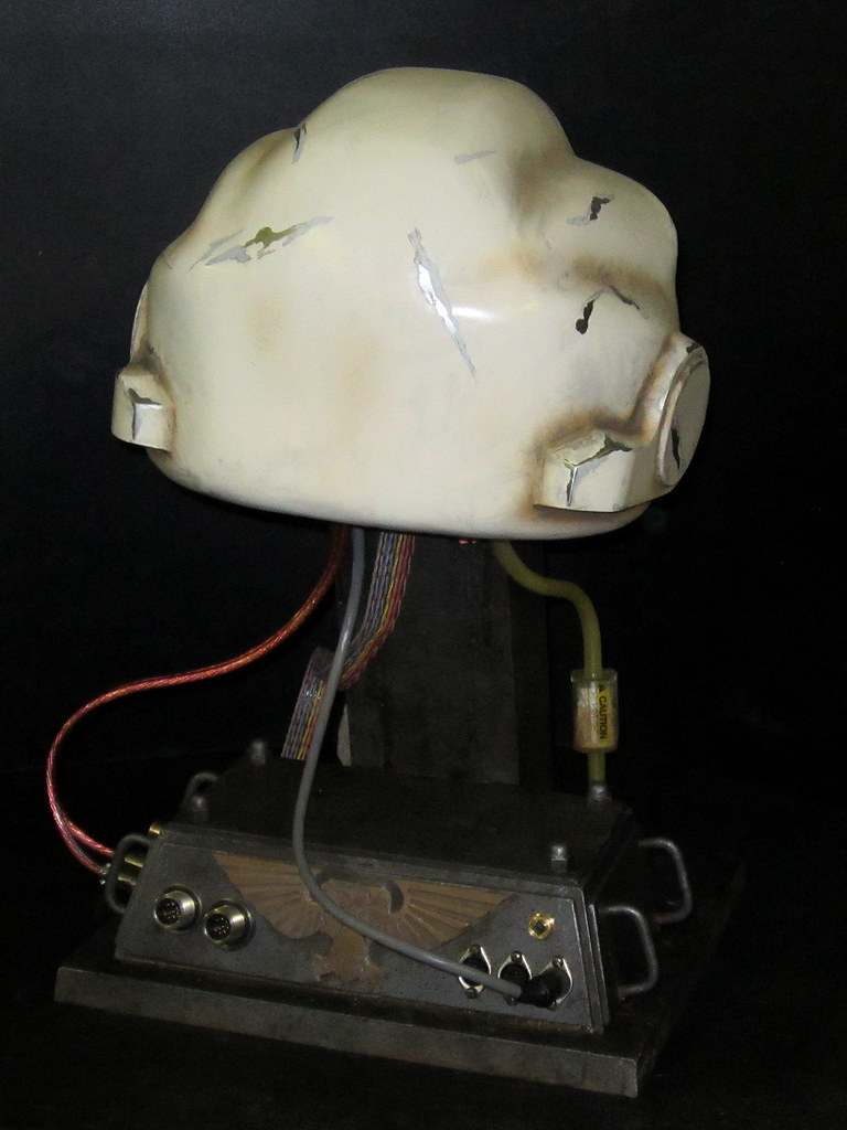 Terminator Helmet Finished back