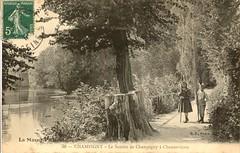 38. Champigny. Le Sentier de Champigny à Chennevières (c.1910)