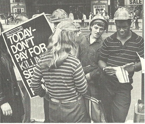 June 1970 - Publishing Industry Workers Anti-War Campaign, NYC