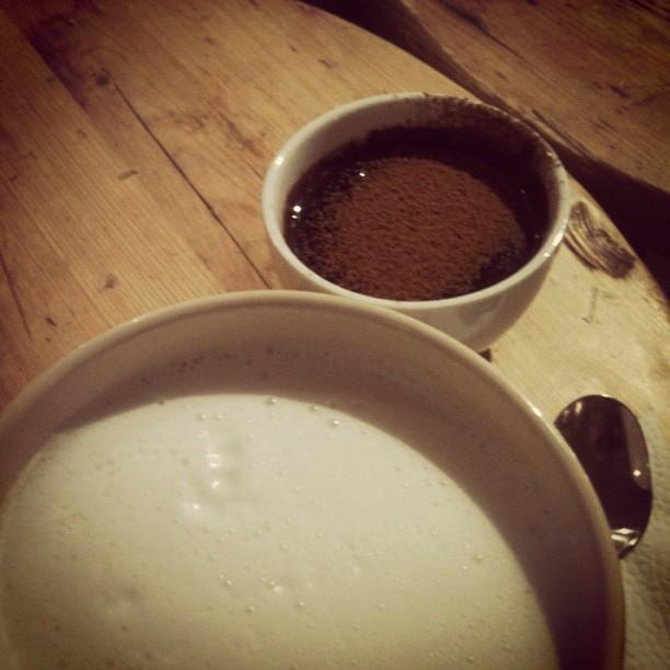 Day 160/365. Божественный горячий шоколад со специями в Хлебе Насущном.