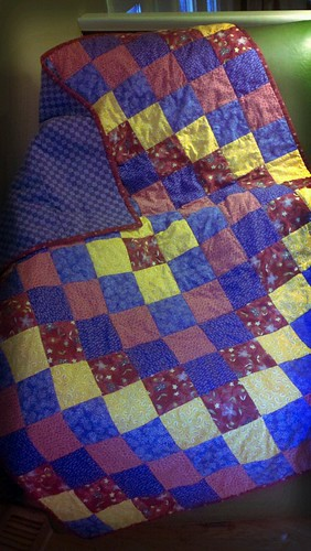 Quilt for a friend by craftyozgirl