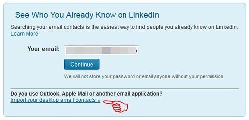 LinkedIn Upload List