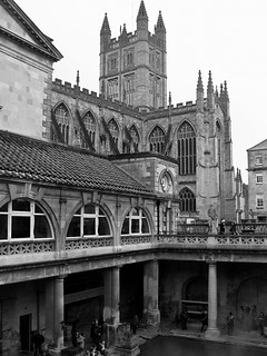 Roman Baths and Abbey