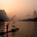 Fishing at dawn (Explored)