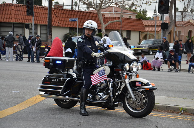 Los Angeles Police Department Lapd Motor Officer
