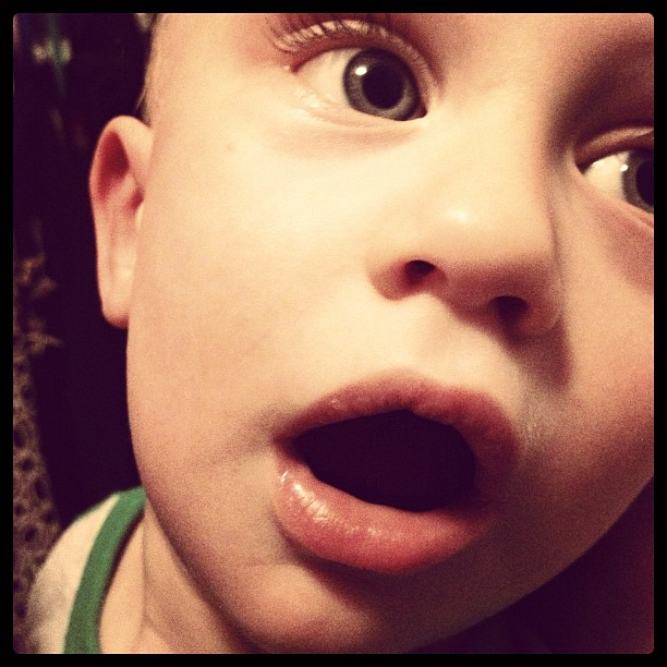 Too pretty to be a boy. #iphone #baby #janphotoaday #instagood #instagram #iphoneonly #face #eyes #infant #lips #life #all_shots