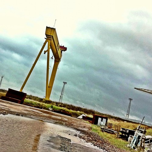 #Belfast #titanic quarter #shipyard #iphoneography