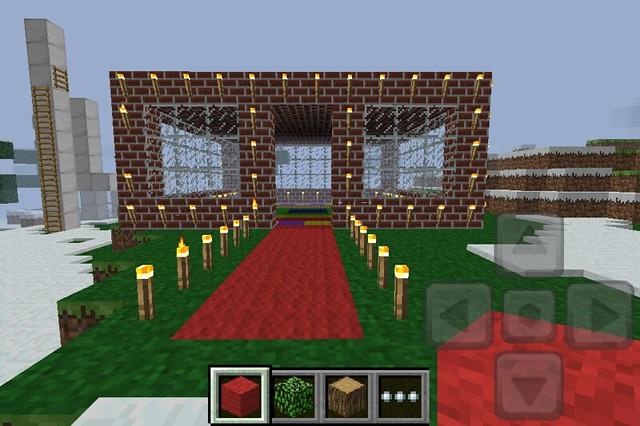 Anna 39 S House In Minecraft Pocket Edition Flickr Photo
