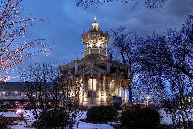 Belvedere Gazebo at Mitchell Mansion (Wisconsin Club)