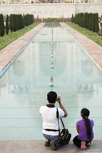 Turismo en Taj Mahal  by Carlos Regalado