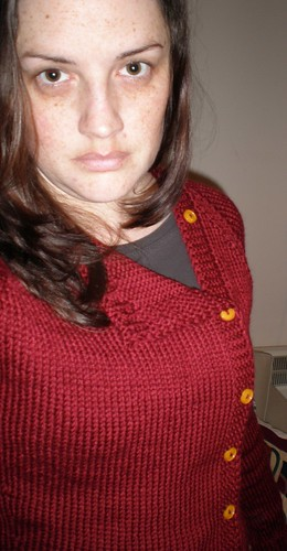 Knitted Buttony Cardigan