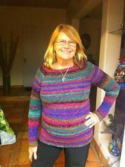 Mom's Noro Sweater