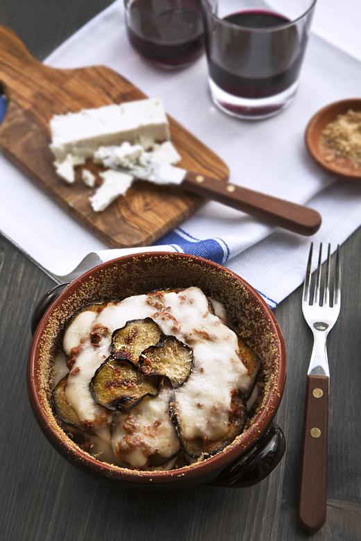 μουσακάς (Moussaka di melanzane grigliate)
