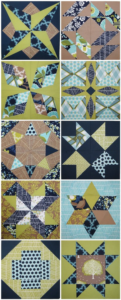 summer sampler mosaic