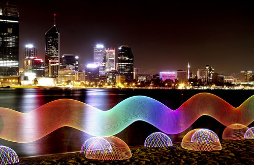 light painting photography orb perth canon60d