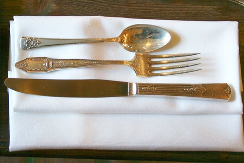Mix~matched Flatware ~ Samba Montclair