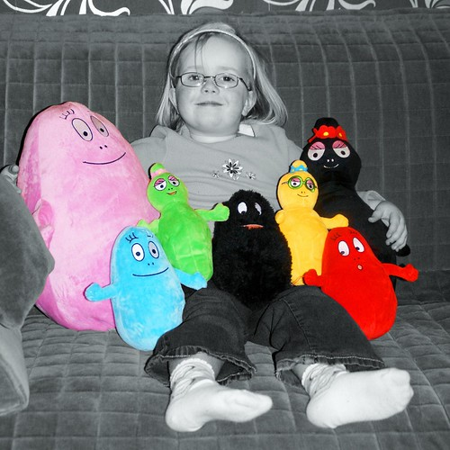 Anna and some of the Barbapapas by PhylB