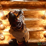 Photographer in Light - Tehran, Iran