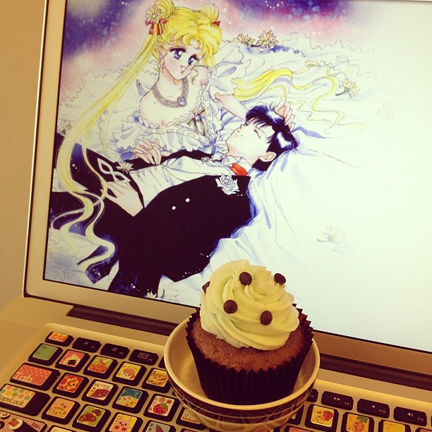 Cupcakes + Sailor Moon = Martina \*^^*/