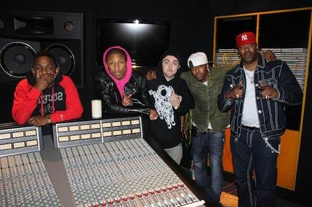 Pharrell Busta Rhymes Kendrick Lamar Mac Miller