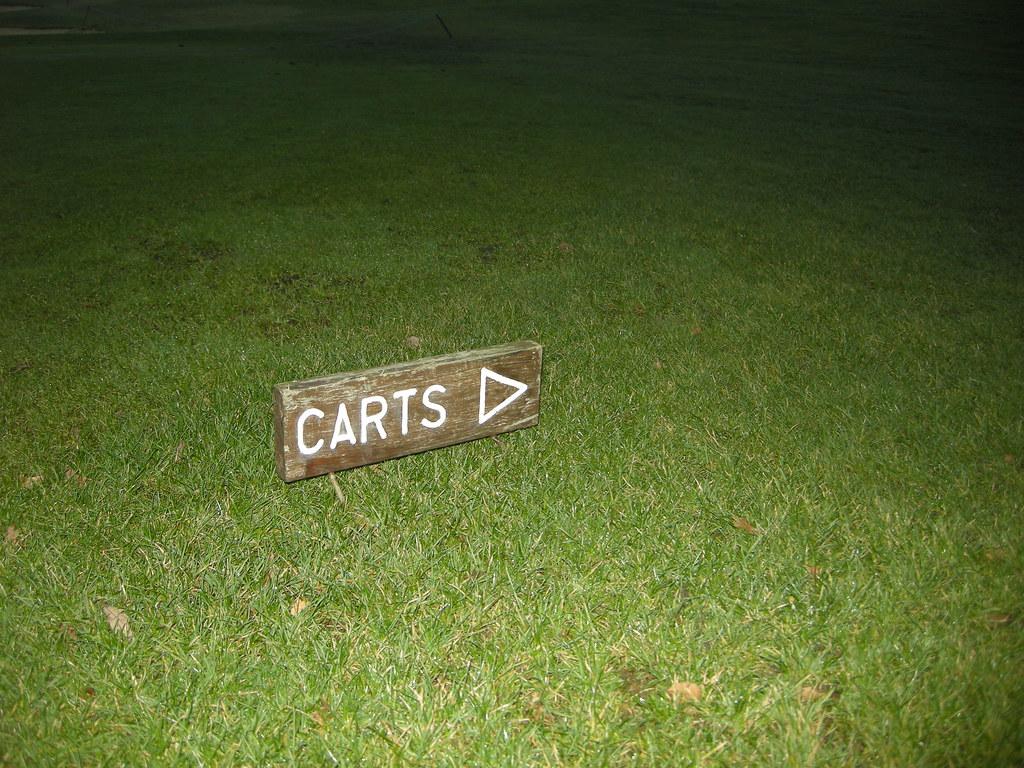 golf signs