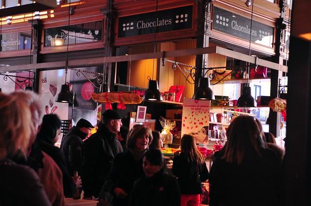 Market Crowd at Mercado San Miguel