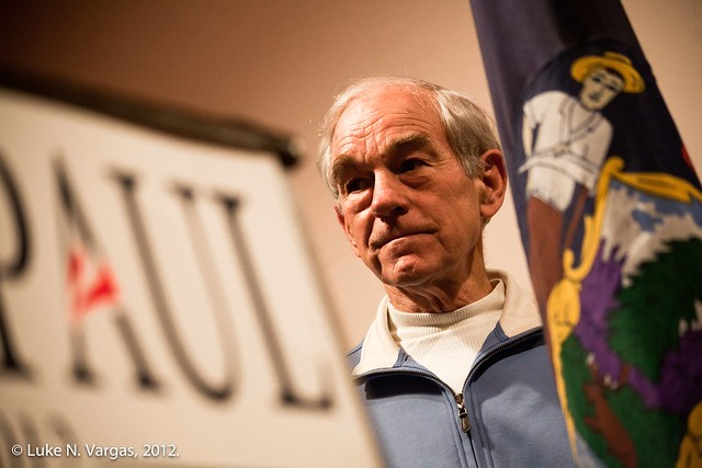 Ron Paul and the Maine Flag