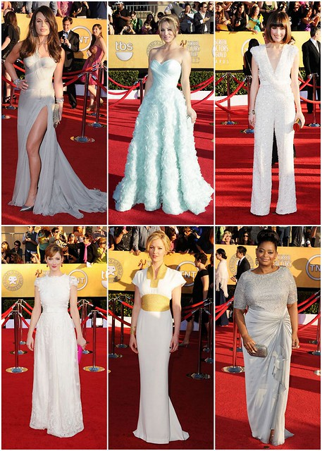 Rose Byrne, Ellie Saab Haute Couture 4. Judy Greer, Collette Dinnigan