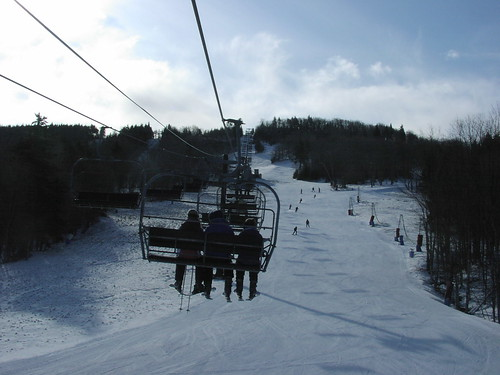 Chair Lift at Canaan Valley Resort