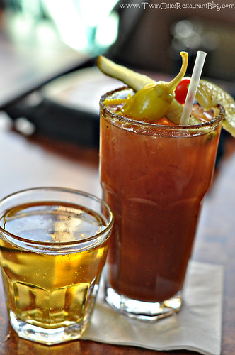 Bloody Mary at Girvan Grille ~ Brooklyn Park, MN