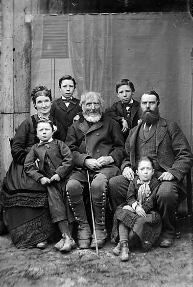 Jones family, Pentre Trewyn (1878)