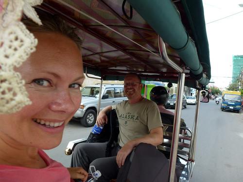 Phnom Penh - met de tuktuk