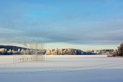 winter sculpture snow finland frost kuopio ibeauty fujix100 fujifilmfinepixx100