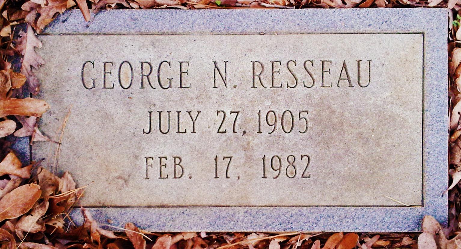 George N Resseau