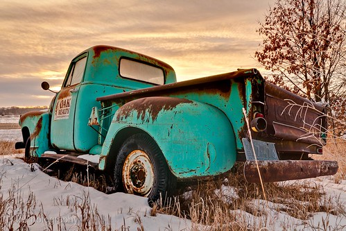 old morning winter white snow cold abandoned metal rural truck sunrise landscape rust flickr country rusty pickup chevy vehicle weathered decaying facebook