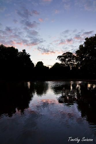 Lake Annand Sunset